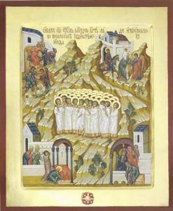 Икона Святых 14000 младенцев мучеников